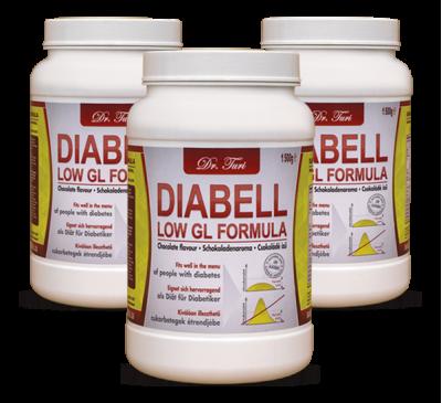 DIABELL LOW GL FORMULA (3 x 1500g)